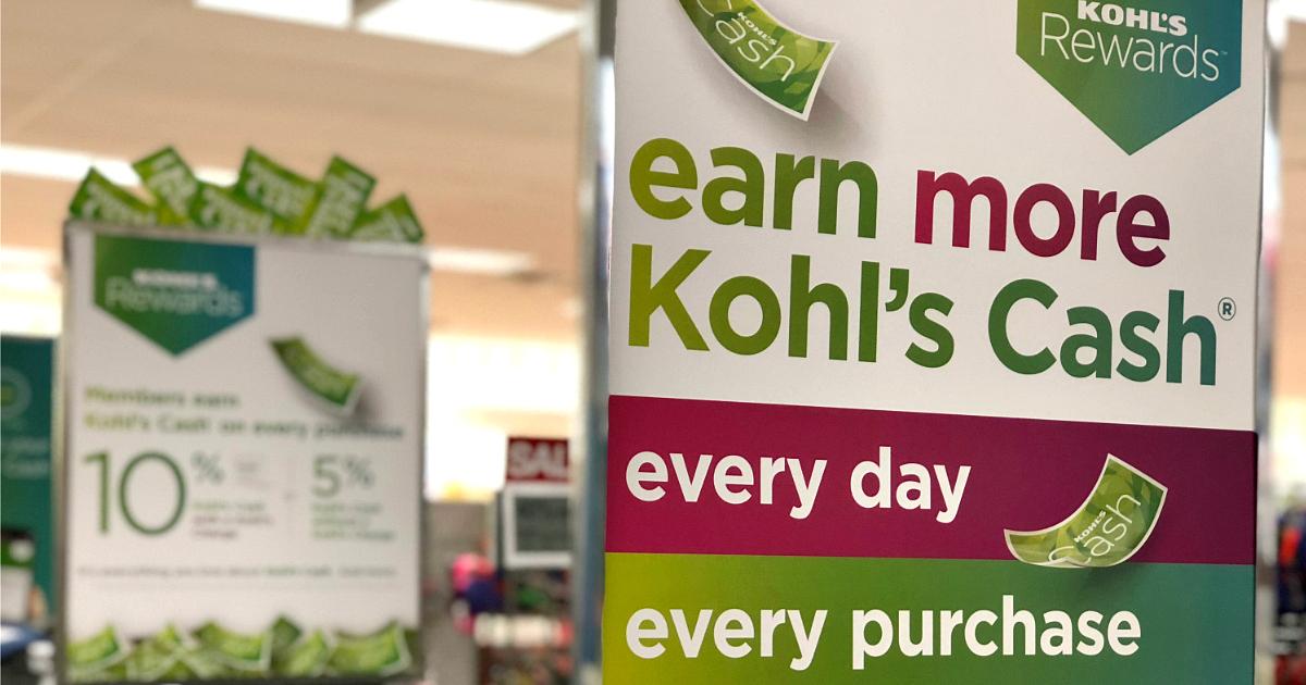 Kohls Rewards Program sign