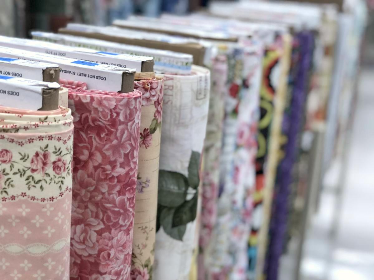 Hobby Lobby Fabric on bolts