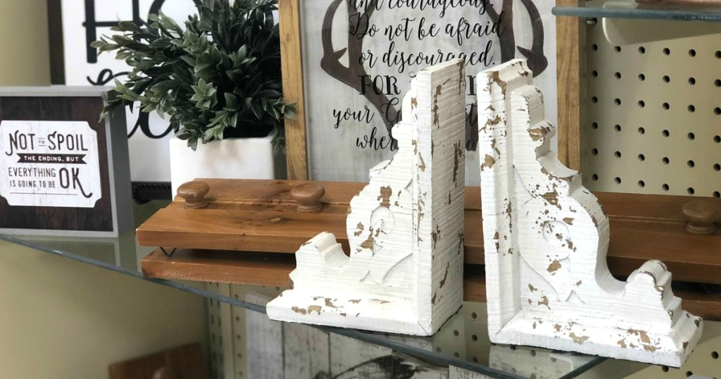 Hobby Lobby corbel bookends