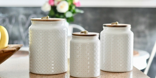 Watch for These Better Homes & Gardens Hobnail Kitchen Items at Walmart