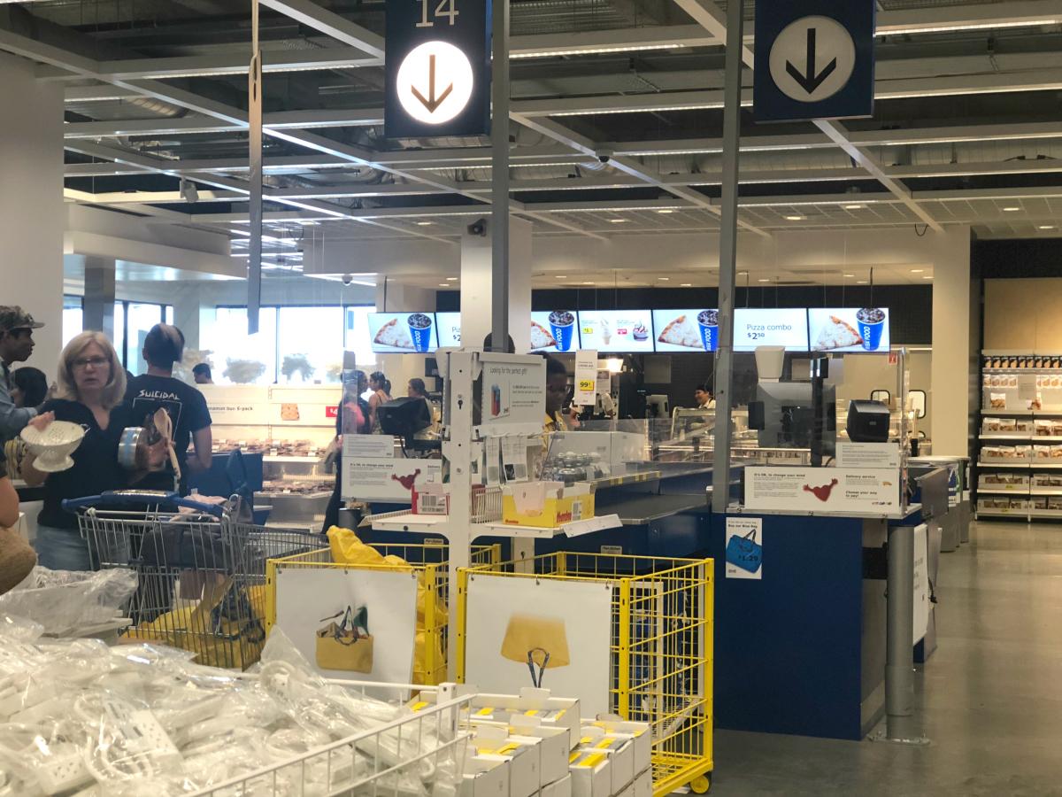 IKEA exit