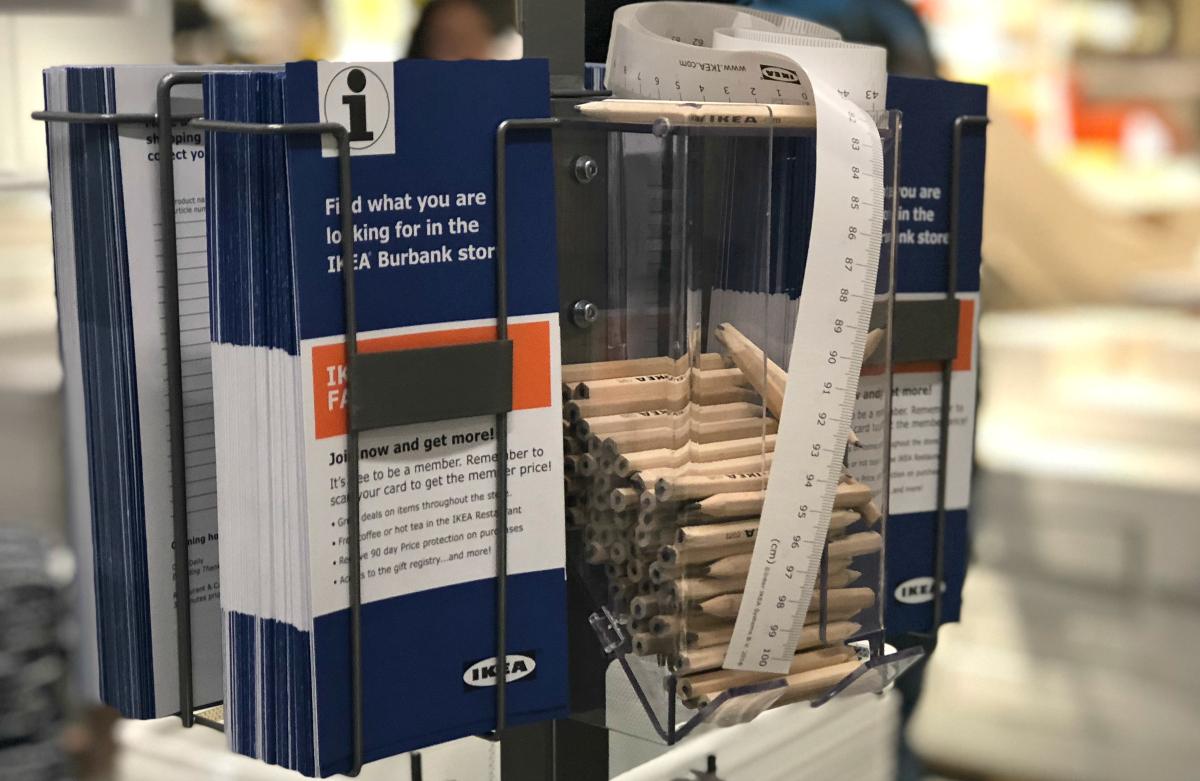 free shopping tools at IKEA