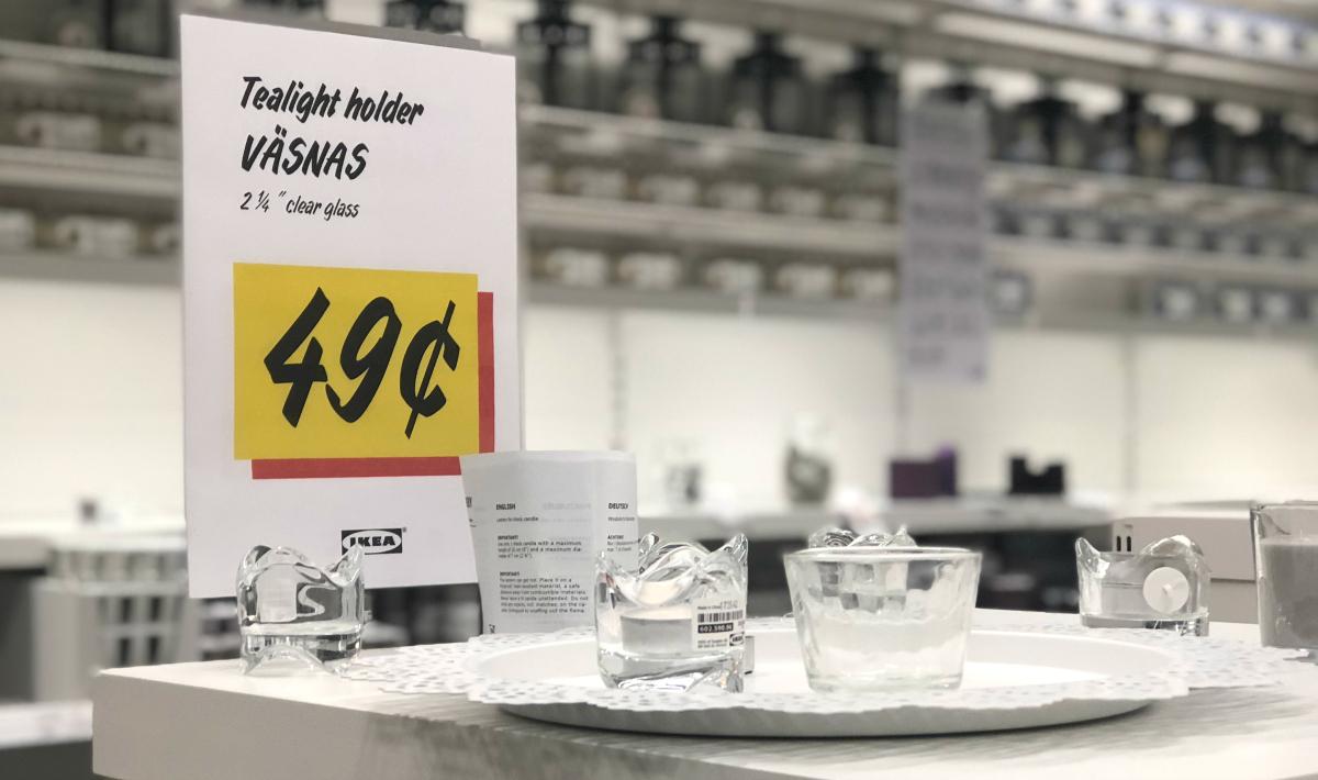 IKEA tealight holders