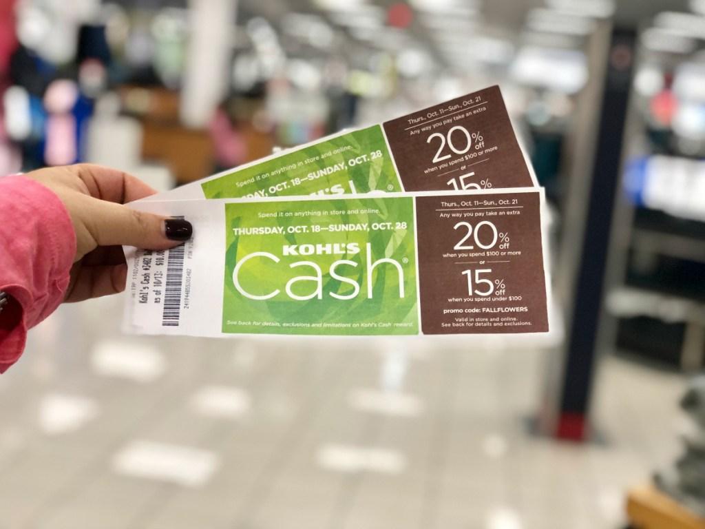 Kohl's Cash rewards