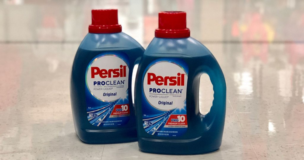 Persil Laundry Soap - two bottles of Persil