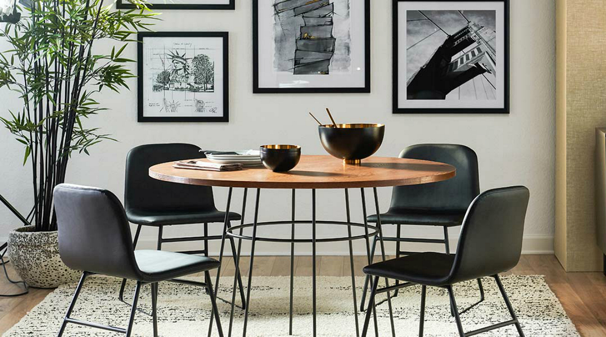 MōDRN home line at Walmart includes this table and chair set