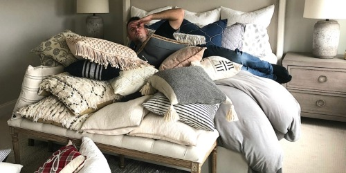 I'm a Decorative Pillow Maximalist! How Extreme Is Your Pillow Obsession?