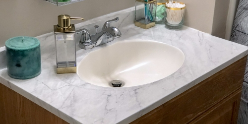 Tips to Fix an UGLY Countertop on a Budget