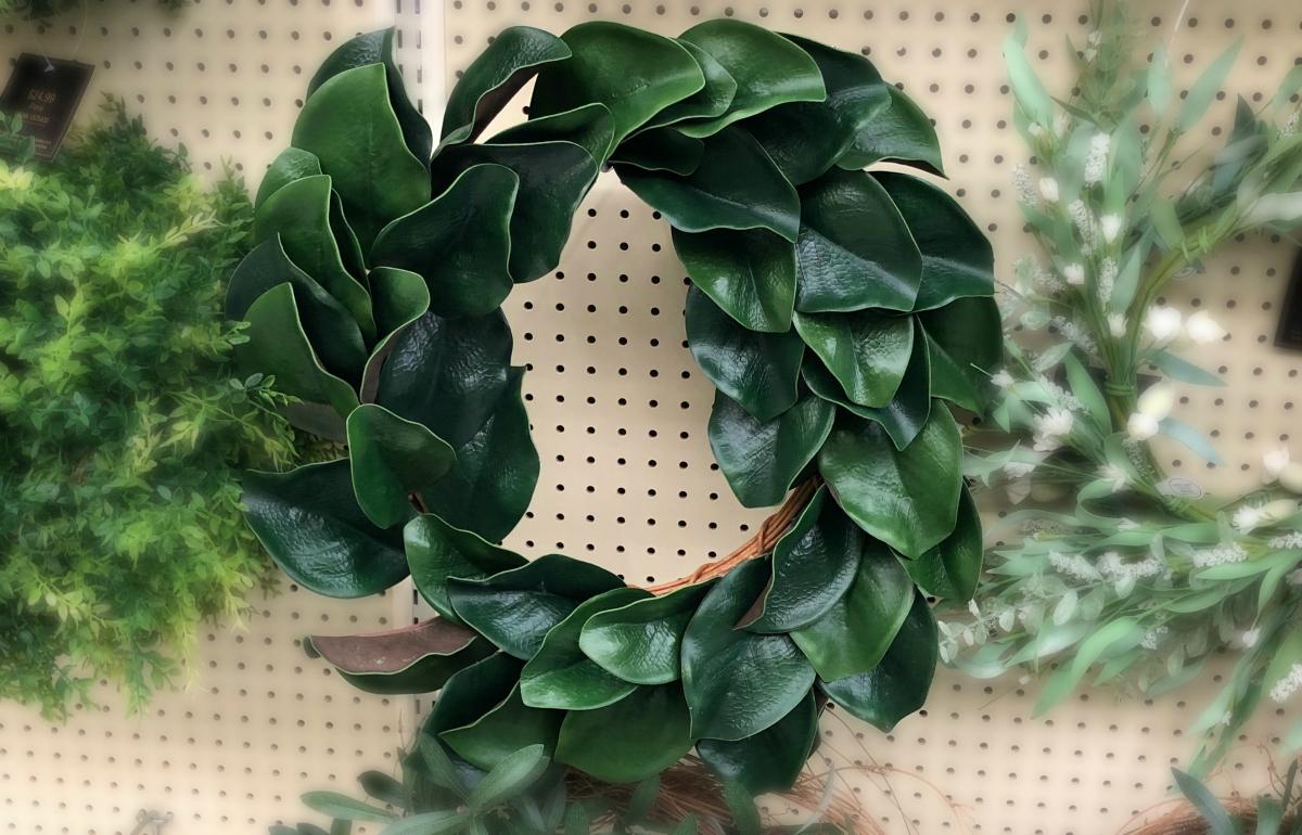 hobby lobby magnolia style wreath
