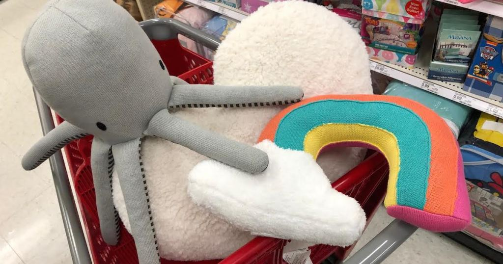 kids throw pillows in target cart