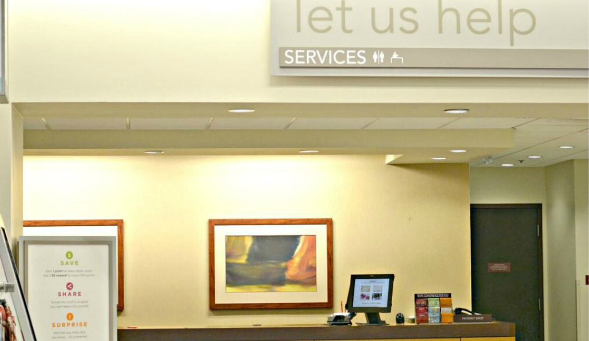 kohls customer service counter