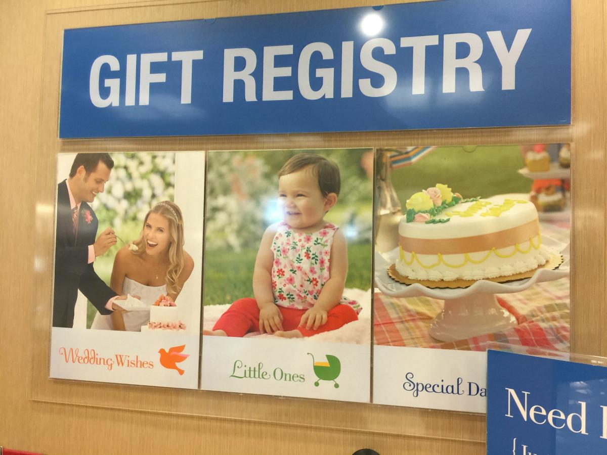 kohls gift registry