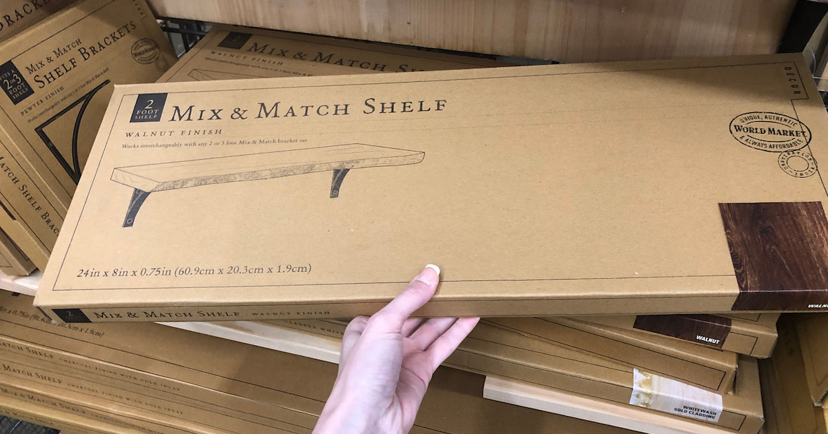 mix & match shelf in a box