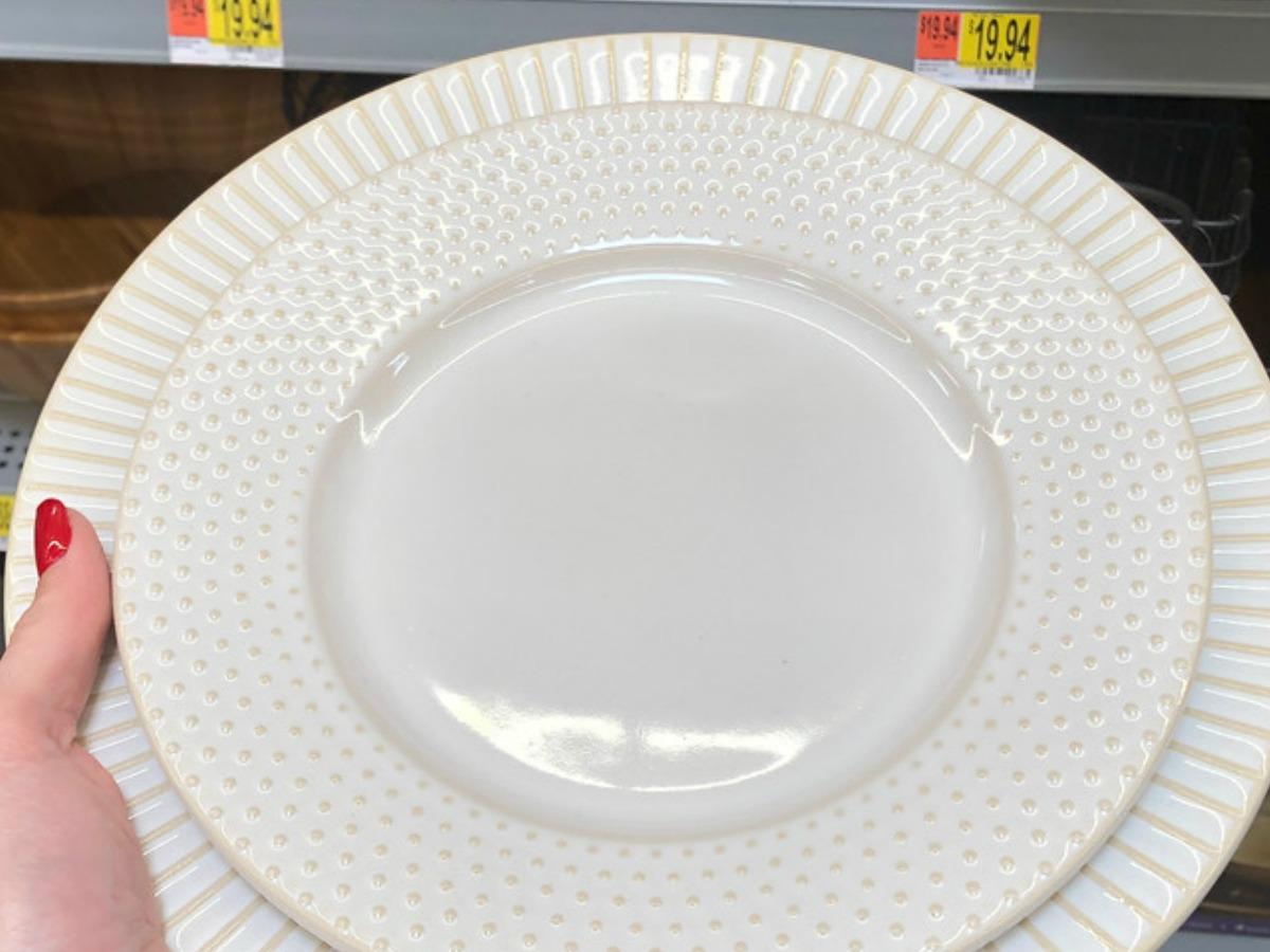 Better Homes & Gardens Striped Plate