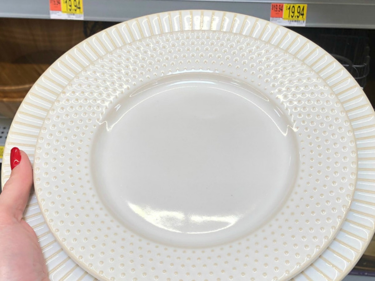 Better Homes & Gardens Striped Plate