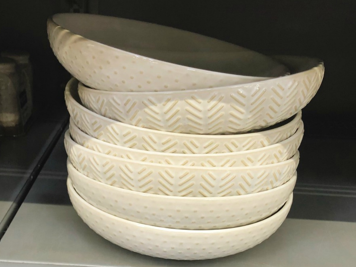 Better Homes & Gardens Geometric Pasta Bowls