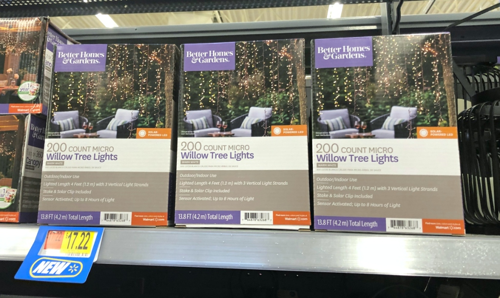 BHG Willow Tree Lights