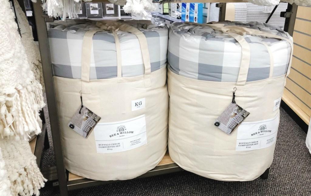 Bee Willow comforter set
