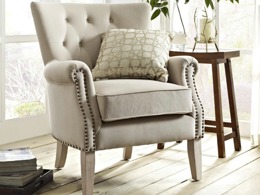 Outstanding These Better Homes Gardens Accent Chairs Are Made To Match Squirreltailoven Fun Painted Chair Ideas Images Squirreltailovenorg