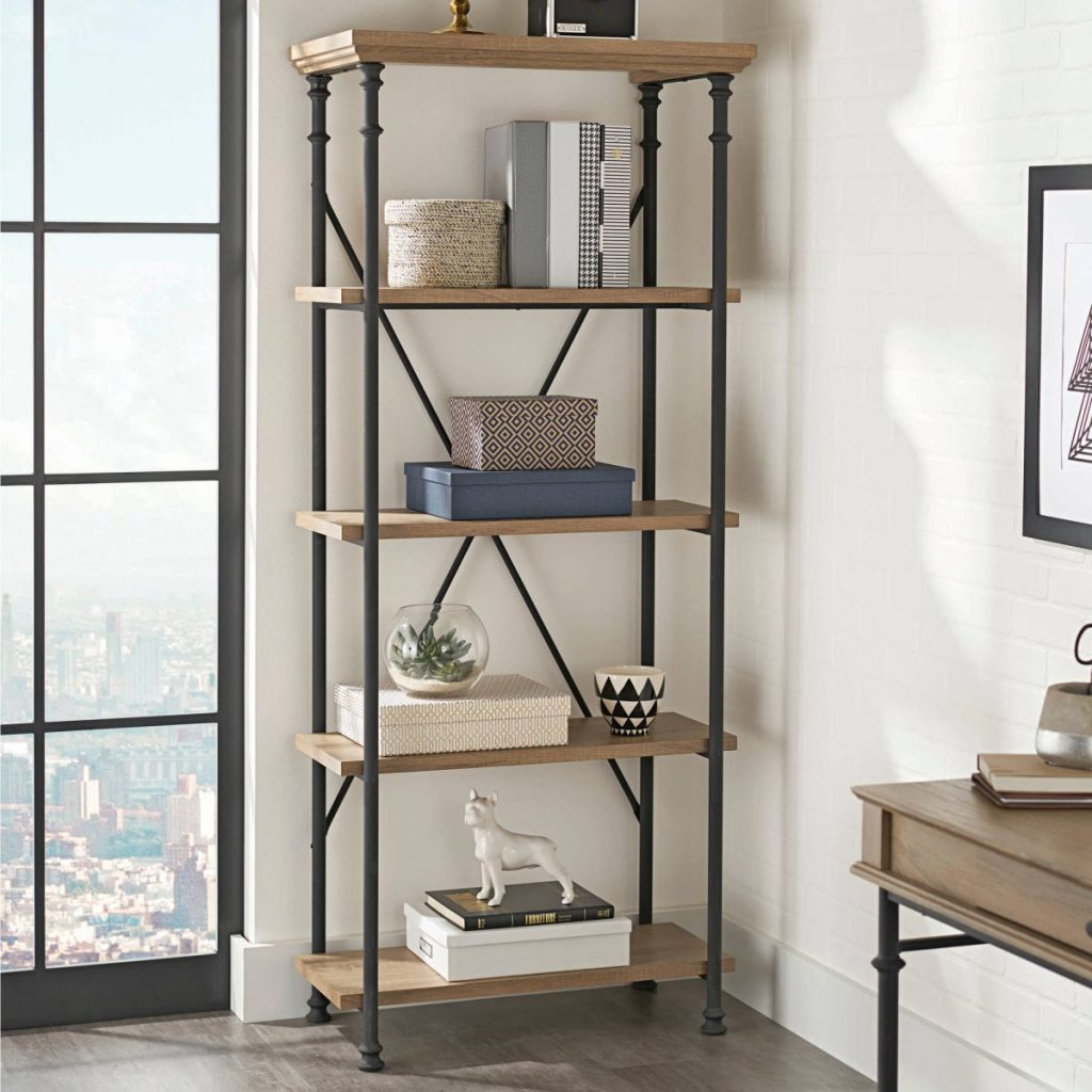 Better Homes & Gardens River Crest 5-Shelf Bookcase