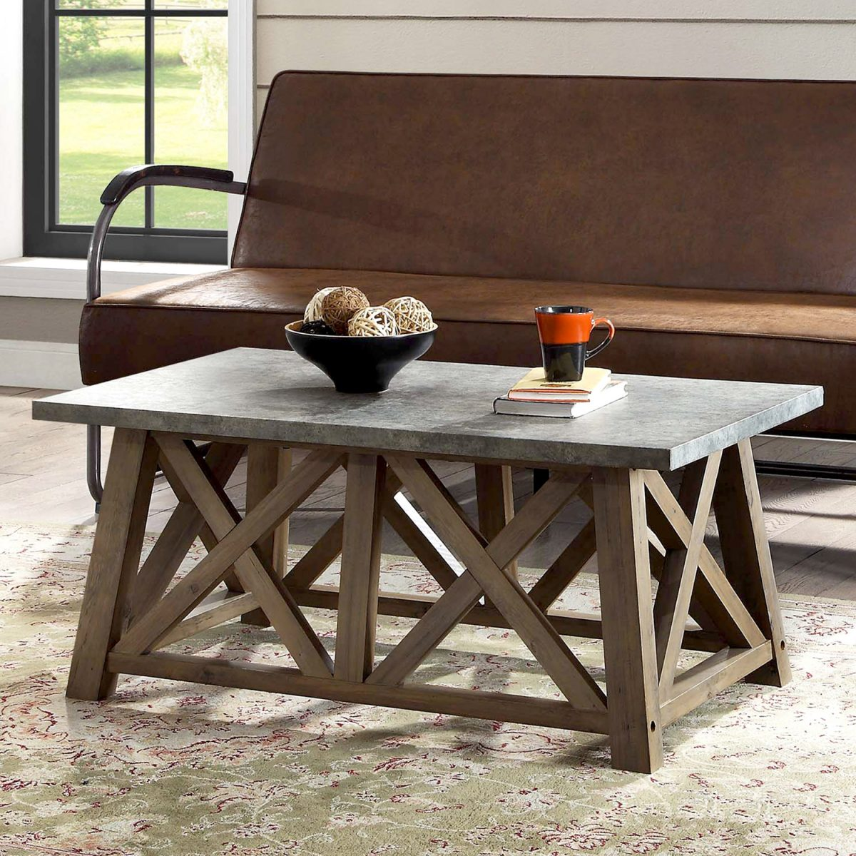 Better Homes and Gardens Granary Modern Farmhouse Coffee Table