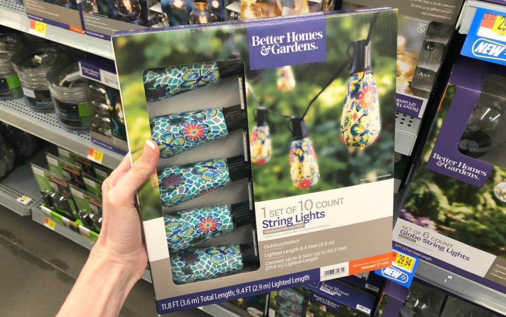 Better Homes and Gardens string lights