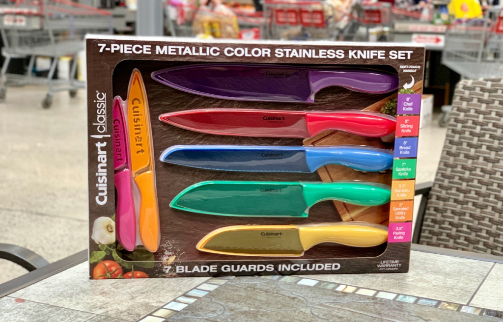 Cuisinart knives at Costco