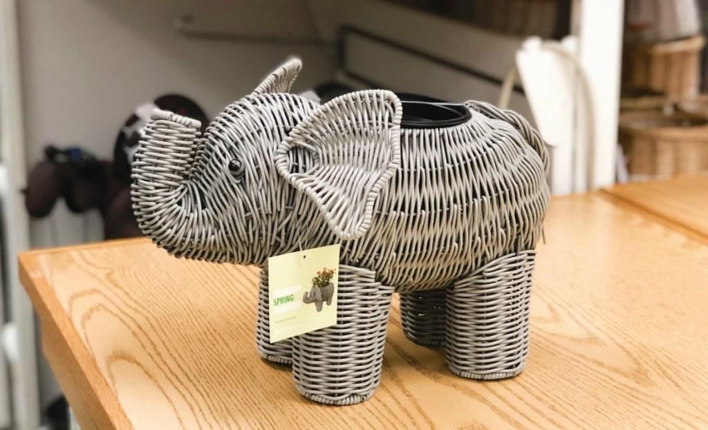 Elephant planter at Kohl's