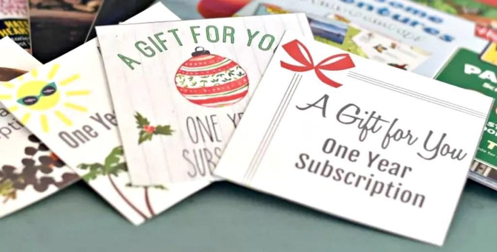 Gift tag printables