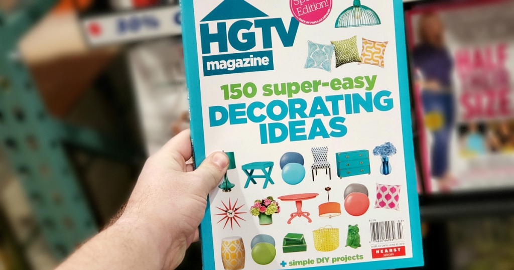 HGTV magazine subscription sale