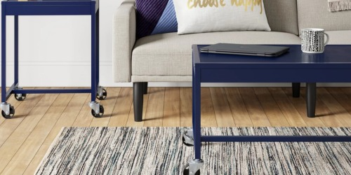Room Essentials Industrial Inspired Metal Coffee Table Only $40.79 Shipped