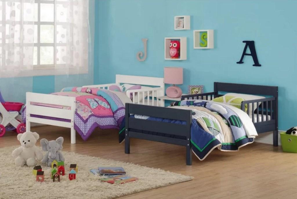 Kids single beds on Wayfair