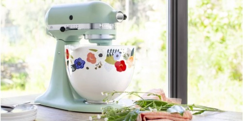 KitchenAid Releasing New Line of Colorful Ceramic Bowls & We Want Them All