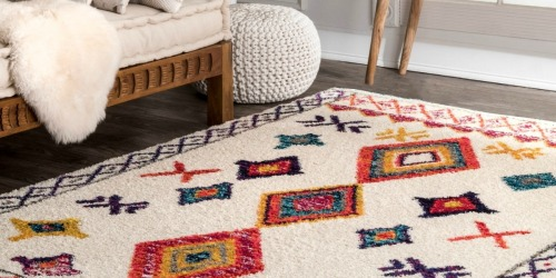 55% Off Large Area Rugs + Free Shipping