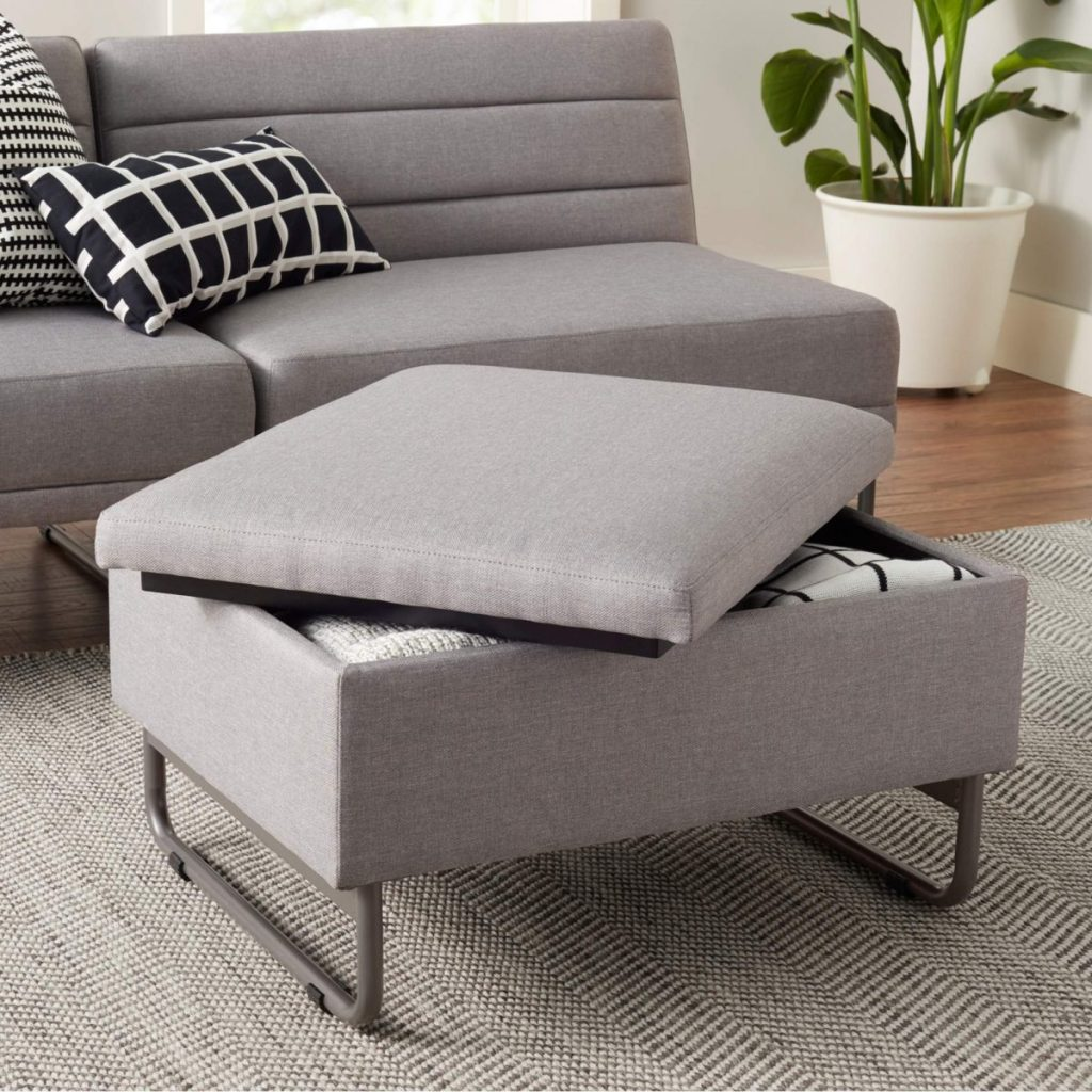 Mainstays Loop Storage Ottoman