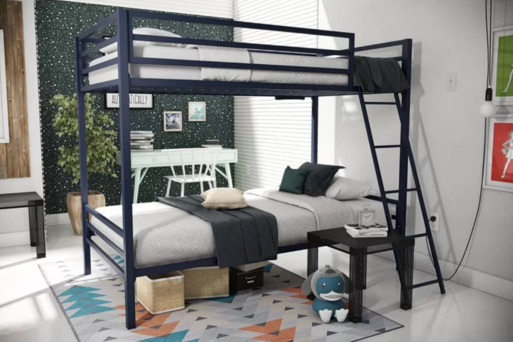 Metal bunk beds Wayfair