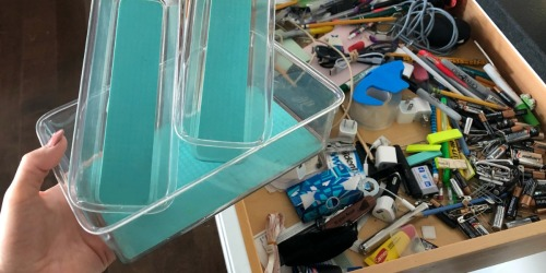 Got 5 Minutes? Organize Your Junk Drawer With These Acrylic Storage Containers