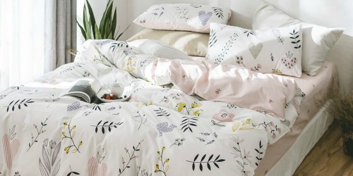 100% Cotton Full/Queen Duvet Cover Sets as Low as $26.39 Shipped (Lots of Fun Colors & Designs)
