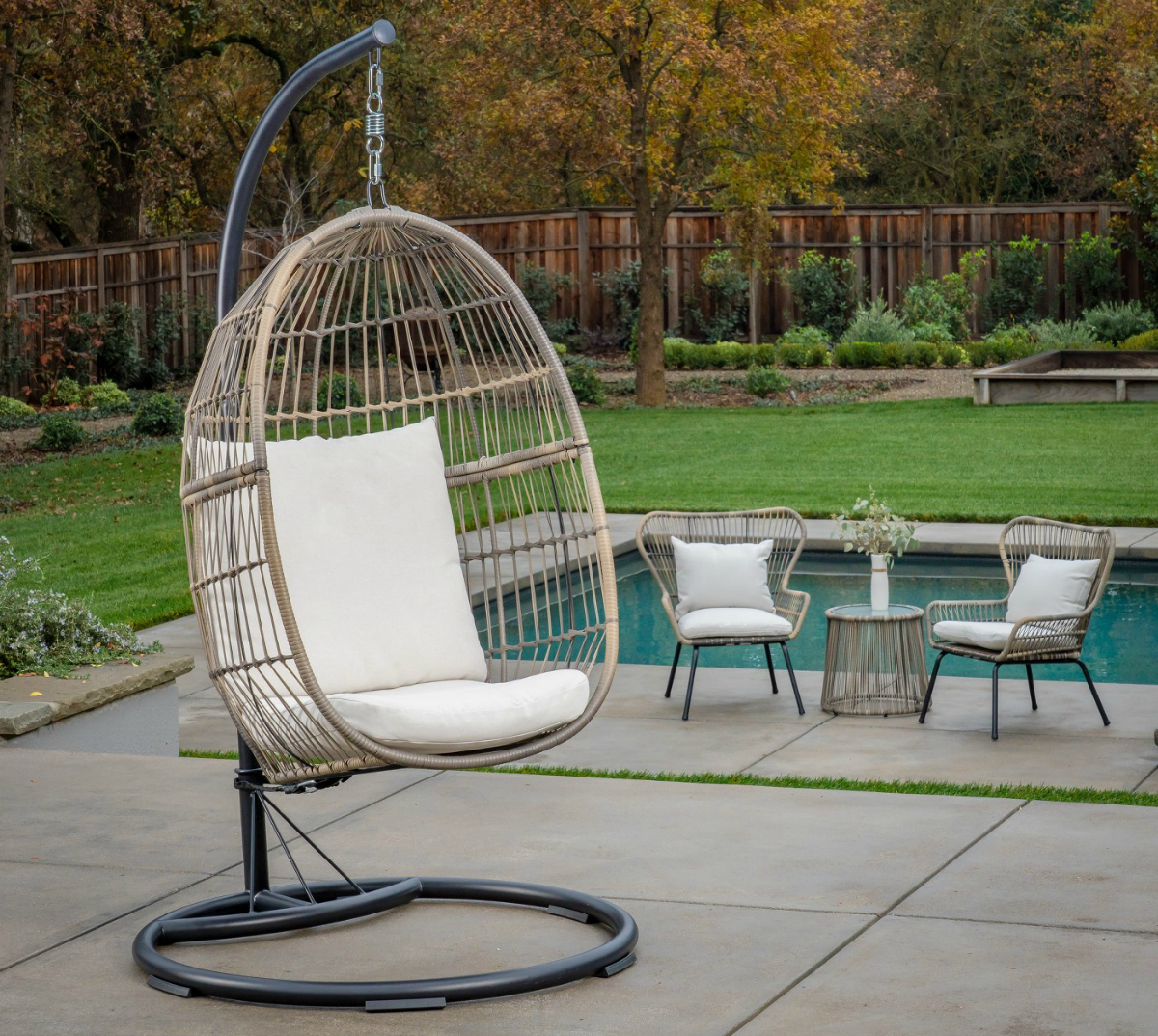 Incredible The Best Patio Egg Chairs For Your Outdoor Indoor Space Spiritservingveterans Wood Chair Design Ideas Spiritservingveteransorg