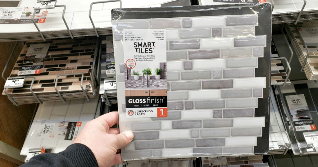 Smart Tiles at Home Depot
