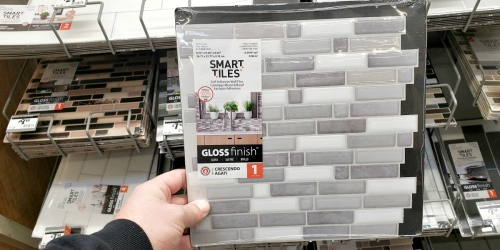 Up to 40% Off Self-Adhesive Backsplash Wall Tiles at The Home Depot (Just Peel and Stick!)