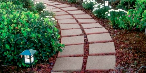 Get Your Landscape Ready for Summer w/ $1 Square Patio Stones at Lowe's
