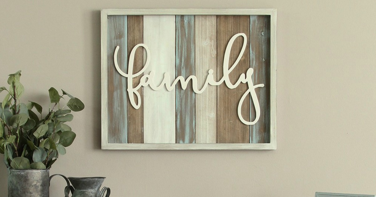 love the farmhouse style up to 65 off home decor wall art more at kohls
