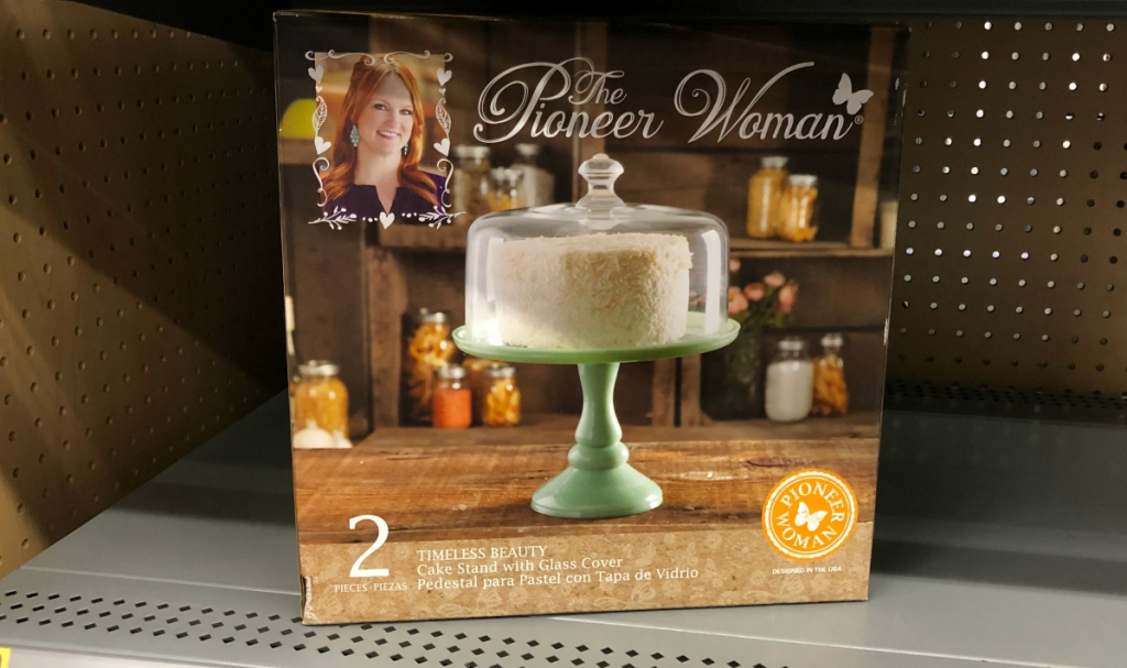 The Pioneer Woman Jade Cake Stand