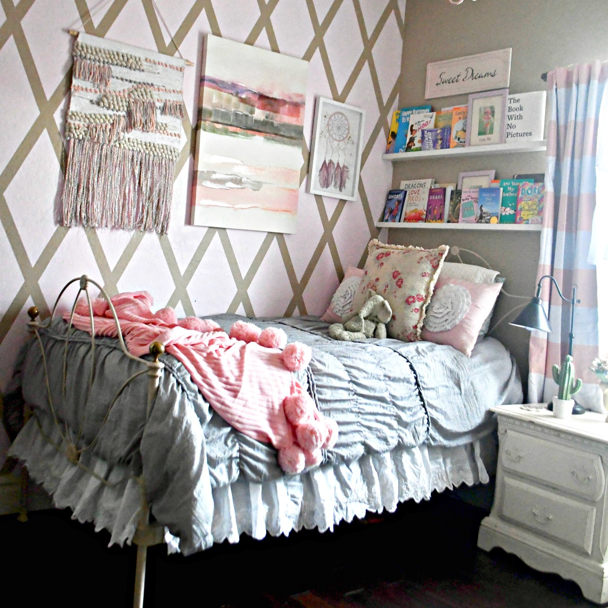 decorating a girls tween room boho style