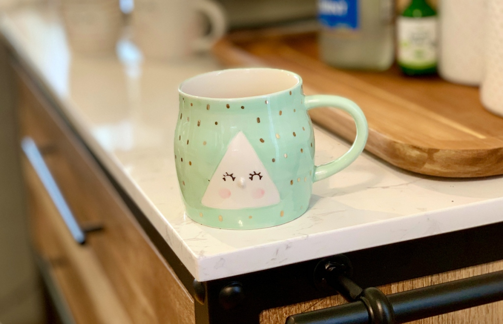 Anthropologie coffee mug