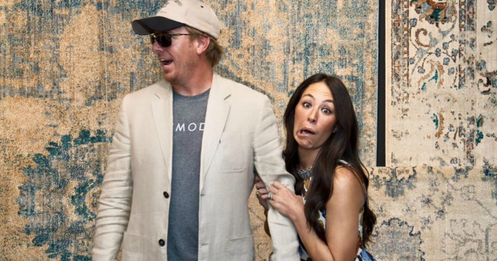 chip and joanna gaines being funny