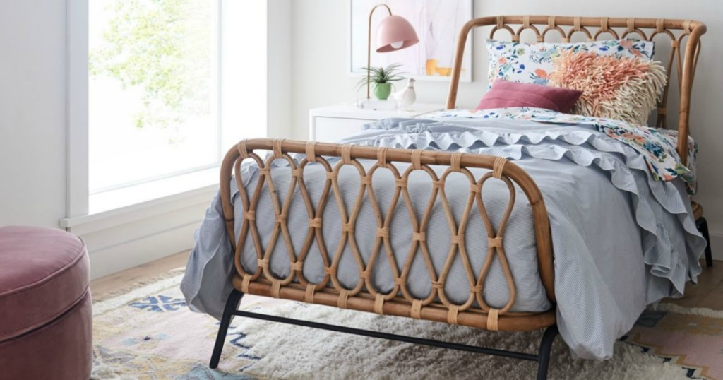 Crate and Kids Rattan Kid's Bed