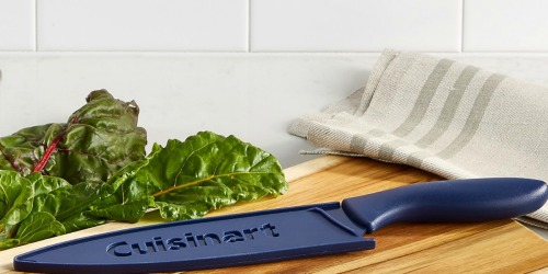 Score 60% Off this Highly Rated Cuisinart Cutlery Set that's Both Colorful & Sharp