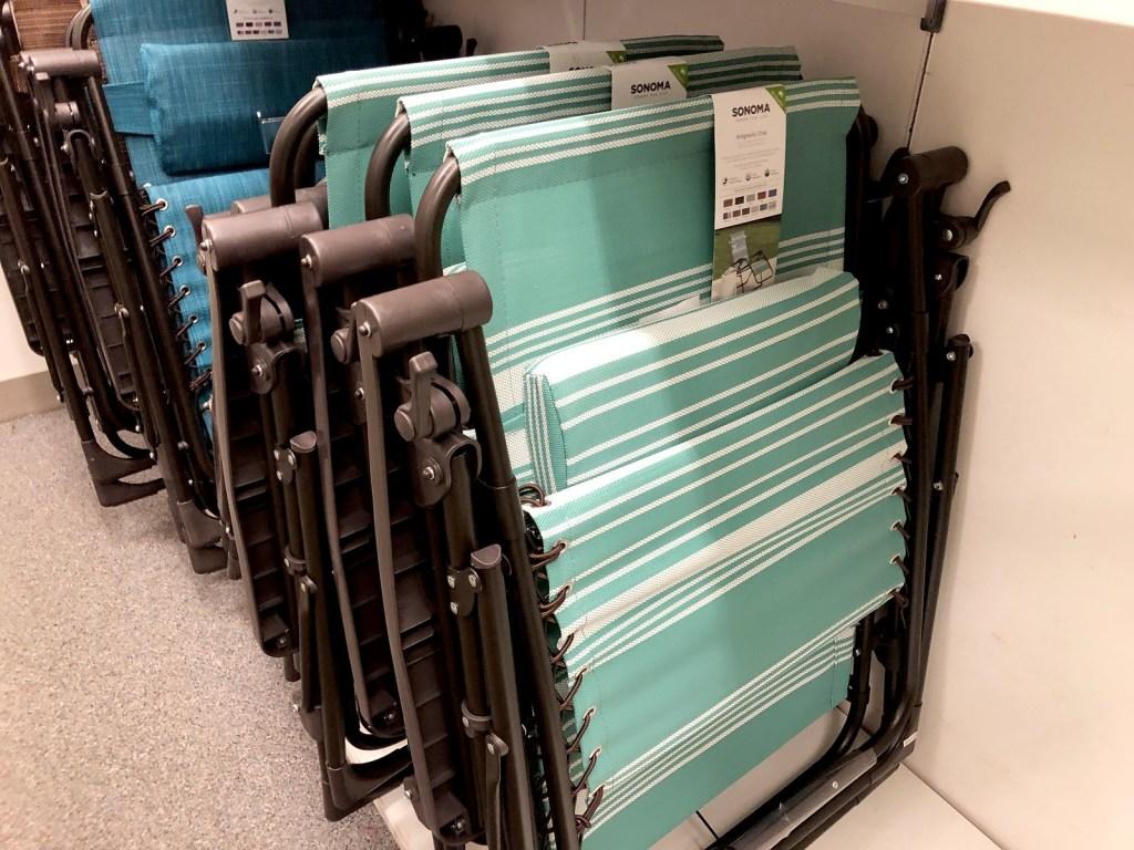 Kohl's Sonoma antigravity chairs